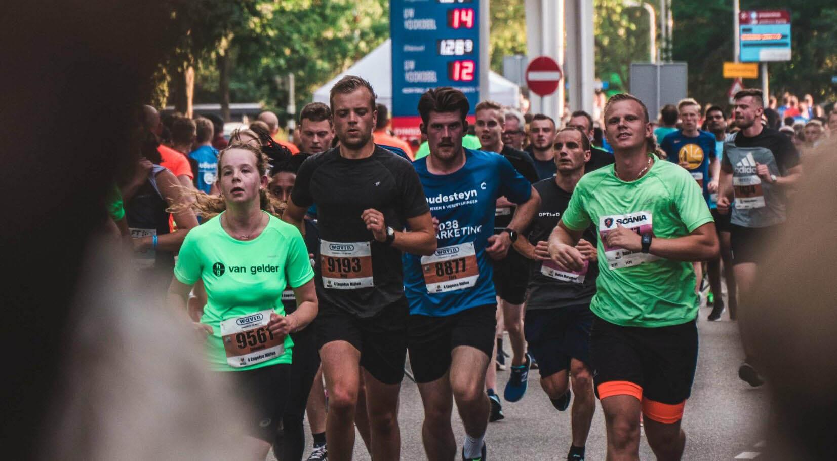 Vad man bör äta inför ett maraton cover bild